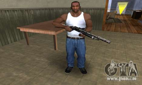 Black Flowers Shotgun für GTA San Andreas dritten Screenshot