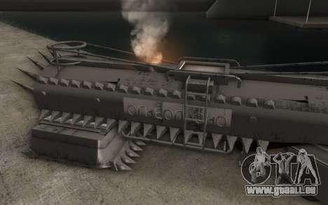 La bande-annonce de Mad Max, camion pour GTA San Andreas laissé vue