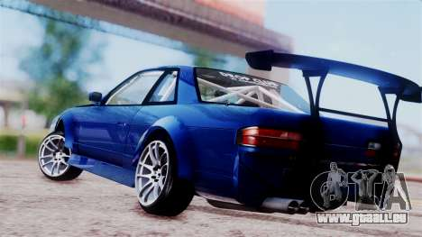 Nissan Onevia für GTA San Andreas zurück linke Ansicht