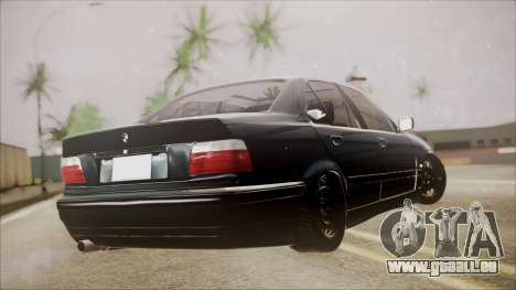 BMW M5 E36 pour GTA San Andreas laissé vue