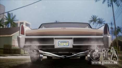 GTA 5 Vapid Chino IVF für GTA San Andreas Rückansicht