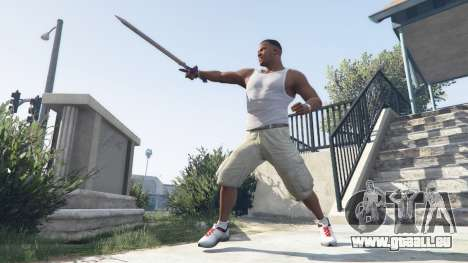 GTA 5 Master Sword zweite Screenshot