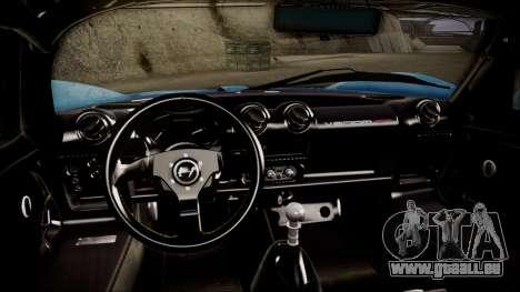 Hennessey Venom GT 2012 U.S.A American pour GTA San Andreas vue de droite