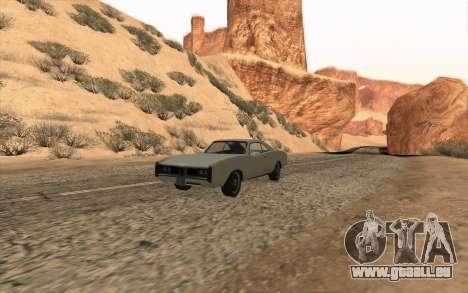 Imponte Dukes SA Style pour GTA San Andreas vue intérieure