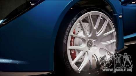 Hennessey Venom GT 2012 U.S.A American pour GTA San Andreas vue de dessus