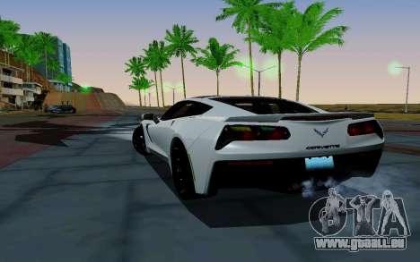 Novel ENB pour GTA San Andreas troisième écran