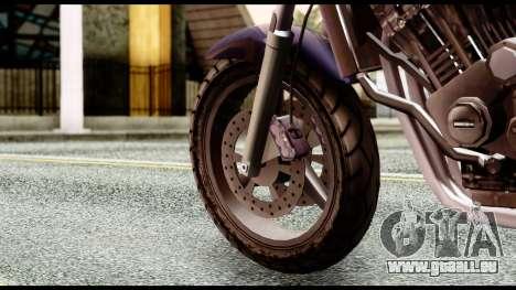 Ducati FCR-900 v4 pour GTA San Andreas sur la vue arrière gauche