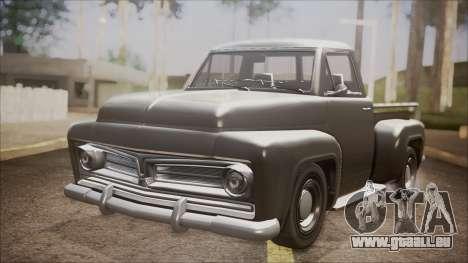 GTA 5 Vapid Slamvan Pickup pour GTA San Andreas