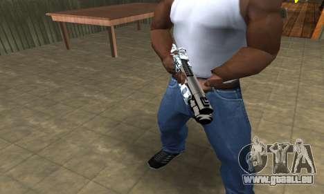 White Shotgun für GTA San Andreas zweiten Screenshot