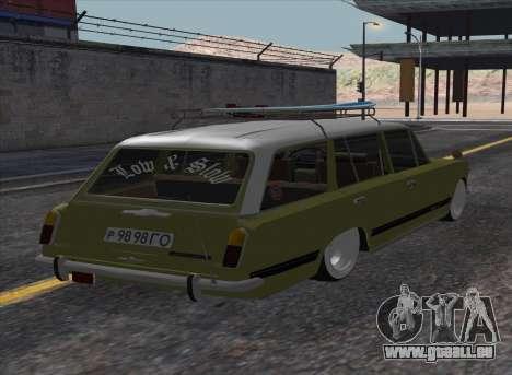 VAZ 2102 Resto pour GTA San Andreas laissé vue
