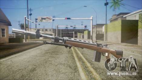 M14 from Black Ops für GTA San Andreas