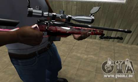 Redl Sniper Rifle pour GTA San Andreas