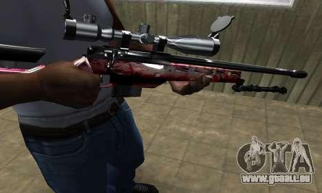 Redl Sniper Rifle pour GTA San Andreas
