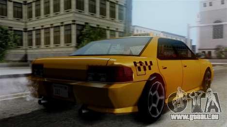 Sultan Taxi für GTA San Andreas linke Ansicht