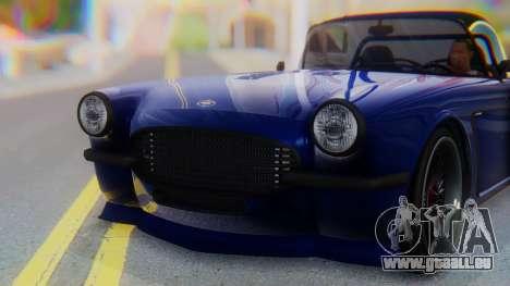 Invetero Coquette BlackFin v2 SA Plate pour GTA San Andreas vue de côté