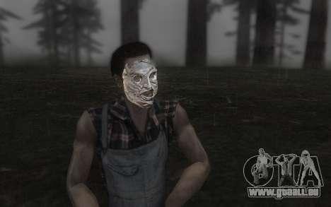 Das Leder Gesichtsmaske für GTA San Andreas
