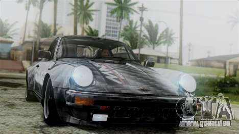 Porsche 911 Turbo (930) 1985 Kit C für GTA San Andreas Unteransicht