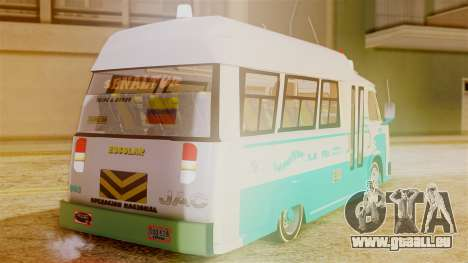 JAC Microbus für GTA San Andreas linke Ansicht
