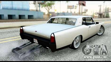 GTA 5 Vapid Chino Tuning v2 für GTA San Andreas linke Ansicht
