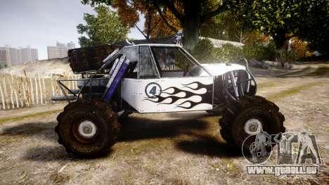 Buggy Fireball für GTA 4 linke Ansicht