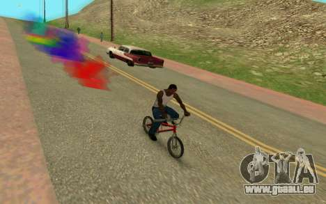 Bike Smoke für GTA San Andreas