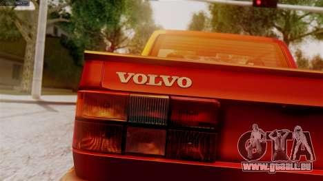 Volvo 940 A-traktor pour GTA San Andreas sur la vue arrière gauche