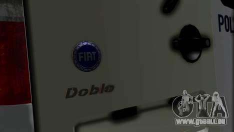 Fiat Doblo PPX pour GTA San Andreas vue arrière