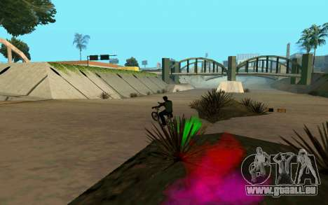 Bike Smoke für GTA San Andreas sechsten Screenshot