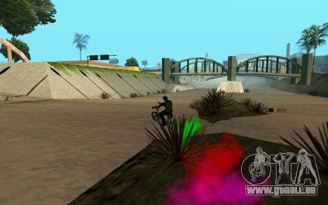 Bike Smoke pour GTA San Andreas sixième écran
