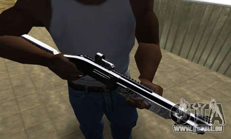 Black Shotgun für GTA San Andreas