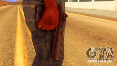 Atmosphere Desert Eagle pour GTA San Andreas troisième écran