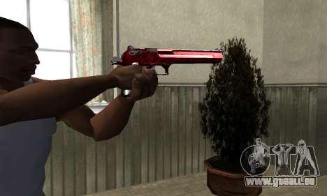 Redl Deagle pour GTA San Andreas