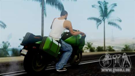 Dinka Vindicator GTA 5 Plate für GTA San Andreas linke Ansicht