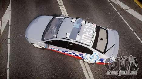 Ford Falcon FG XR6 Turbo Highway Patrol [ELS] pour GTA 4 est un droit