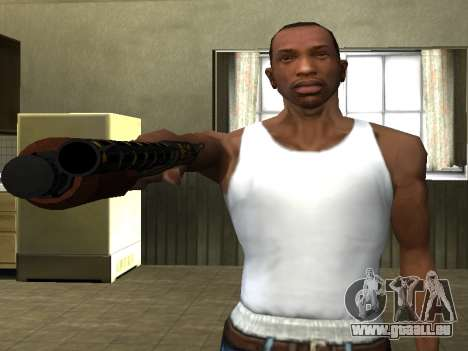 GTA 5 Sawed-Off Shotgun für GTA San Andreas dritten Screenshot