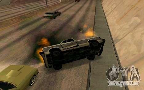 Burning car mod from GTA 4 für GTA San Andreas fünften Screenshot