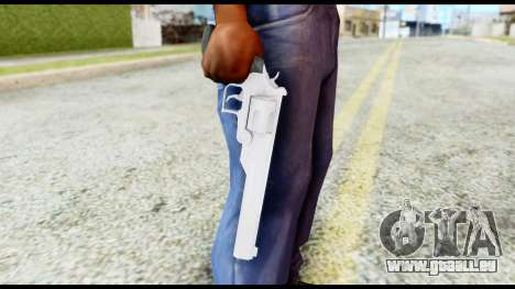 Desert Eagle from Resident Evil 6 für GTA San Andreas dritten Screenshot