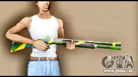 Brasileiro Shotgun pour GTA San Andreas troisième écran