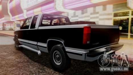 GMC Sierra 2500 Extended Cab 1992 für GTA San Andreas linke Ansicht