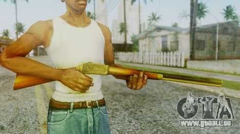 Rifle from Silent Hill Downpour pour GTA San Andreas troisième écran