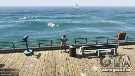 Fishing Mod 0.2.7 BETA für GTA 5
