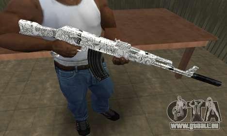 Camper AK-47 pour GTA San Andreas