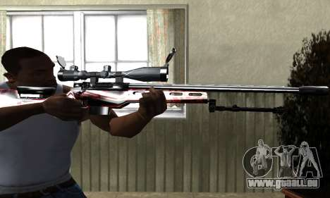 Redl Sniper Rifle für GTA San Andreas zweiten Screenshot