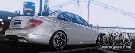 Mercedes-Benz C63 AMG 2013 für GTA San Andreas rechten Ansicht