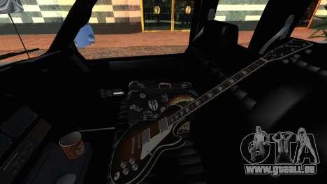 GMC Sierra 2500 Extended Cab 1992 pour GTA San Andreas vue arrière
