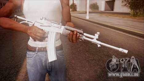 Galil AR v1 from Battlefield Hardline pour GTA San Andreas troisième écran