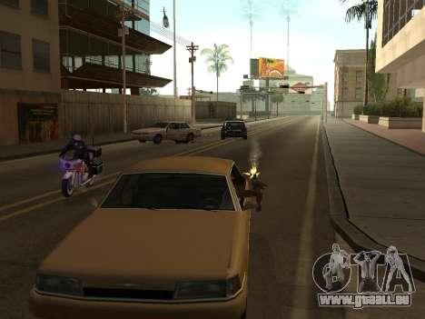 Manual Driveby pour GTA San Andreas deuxième écran