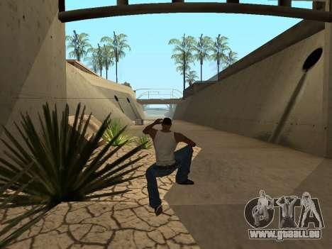 Ped.ifp Animation Gopnik pour GTA San Andreas sixième écran