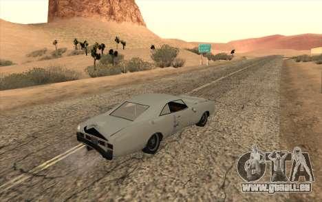 Imponte Dukes SA Style pour GTA San Andreas vue arrière