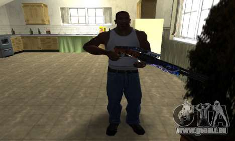 Fish Power Combat Shotgun pour GTA San Andreas troisième écran